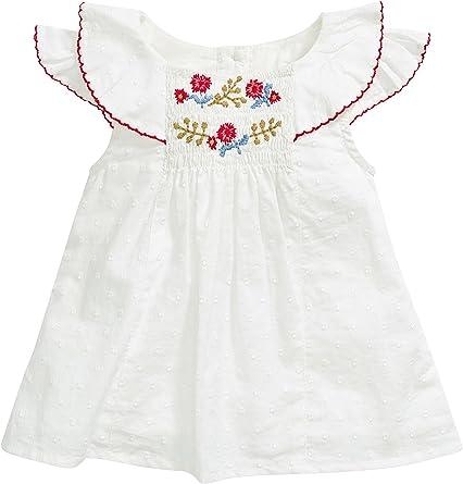 next Bebé Niña Conjunto De Blusa Y Cubrepañal Nido De Abeja (0 Meses-2 Años) Estándar: Amazon.es: Ropa y accesorios