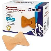 Apósitos flexibles para las puntas de los dedos y para evitar la infección de las heridas (caja de 100)