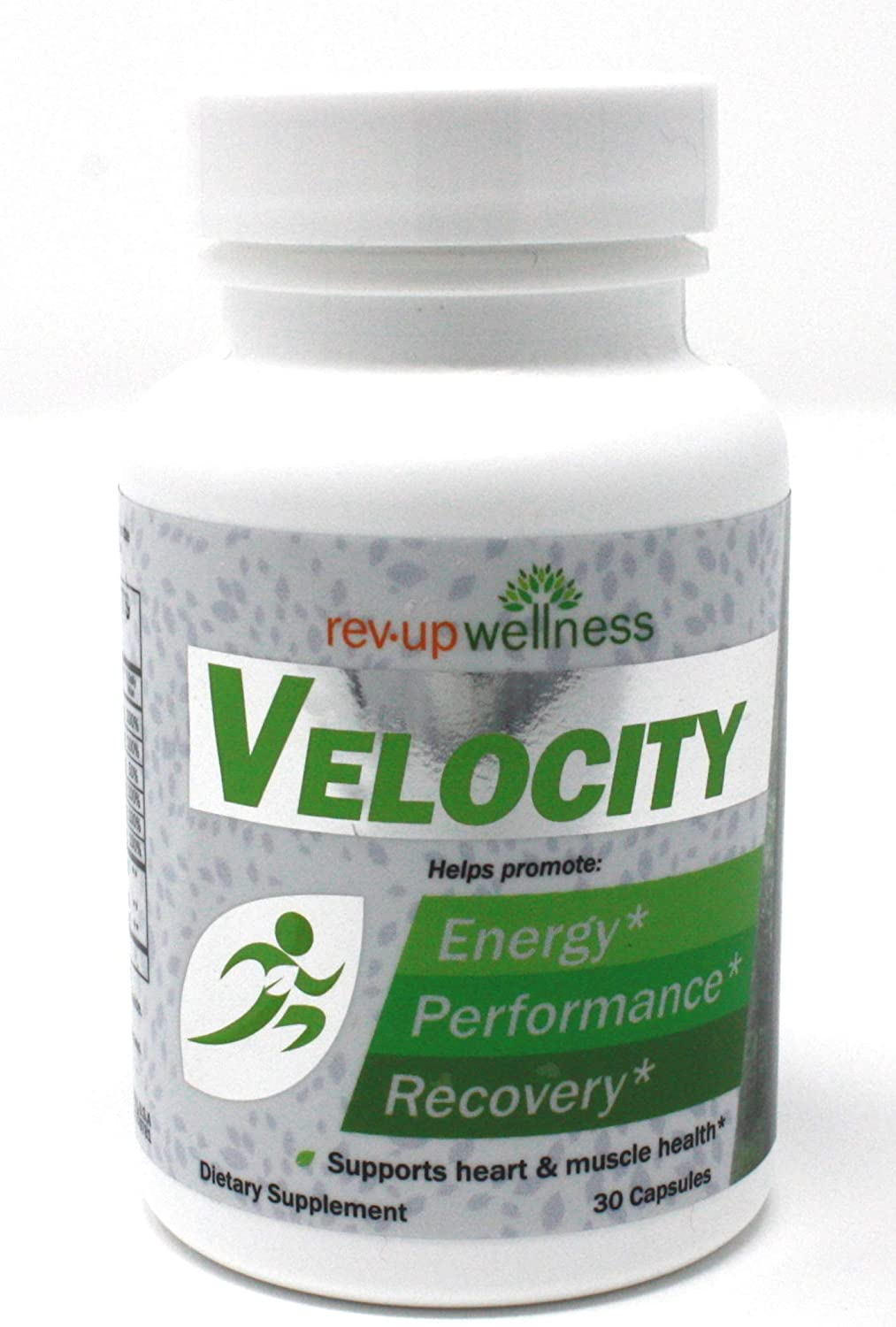 Rev Up Wellness A Velocity Natural Supplement Blend for Energy, 1.6 Ounce