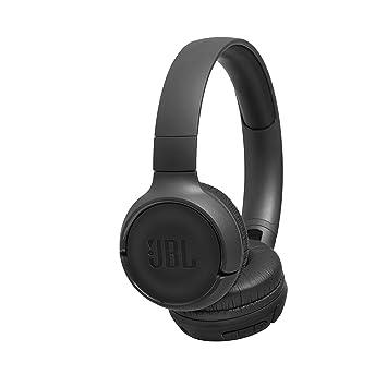 JBL Tune500BT - Auriculares supraaurales inalámbricos con conexiones multipunto (asistente de voz Google now o Siri, batería de 16h) color negro: Amazon.es: ...