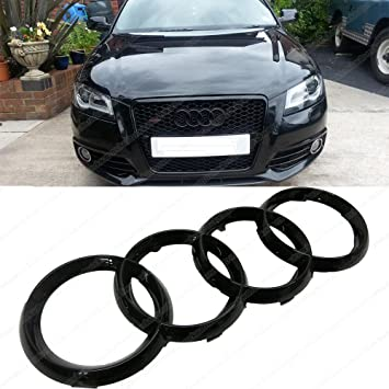 Audi Badges Black Rings
