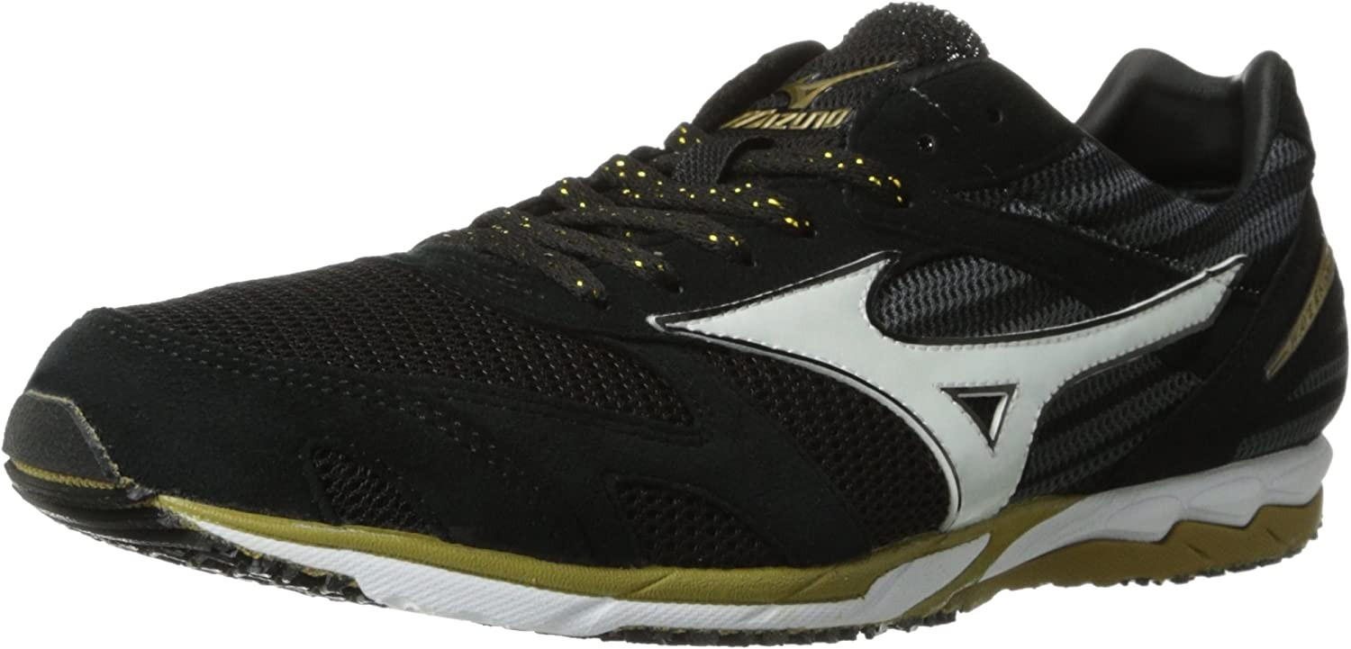 mizuno mens running shoes size 9 youth gold weight high