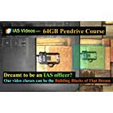 IAS VIDEOS 64GB PENDRIVE COURSE ( with regular online updates)