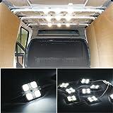 40 Lampada LED per Auto/ Esterno Camper/ Camion Luce Bianca per Lettura/Soffitto/Plafoniere/Interno 12V