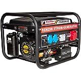 Fullex Stromerzeuger FLS-8500XE mit 3.5 kW Dauerleistung und Transferswitch umschalten zwichen 230 Volt und 380 Volt 2 in 1 NEUHEIT.....