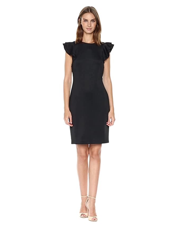 037bfd5b59b86 Tommy Hilfiger Women's Light Weight Scuba Dress at Amazon Women's Clothing  store: