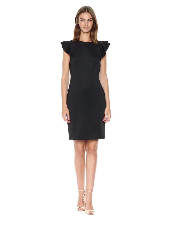a5c6e082f91 Tommy Hilfiger Women s Light Weight Scuba Dress at Amazon Women s Clothing  store