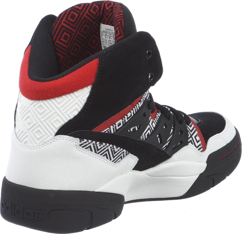 254497b78f16 adidas originals MUTOMBO Q33018 mens basketball hi top trainers dikembe  sneakers shoes  Amazon.co.uk  Shoes   Bags