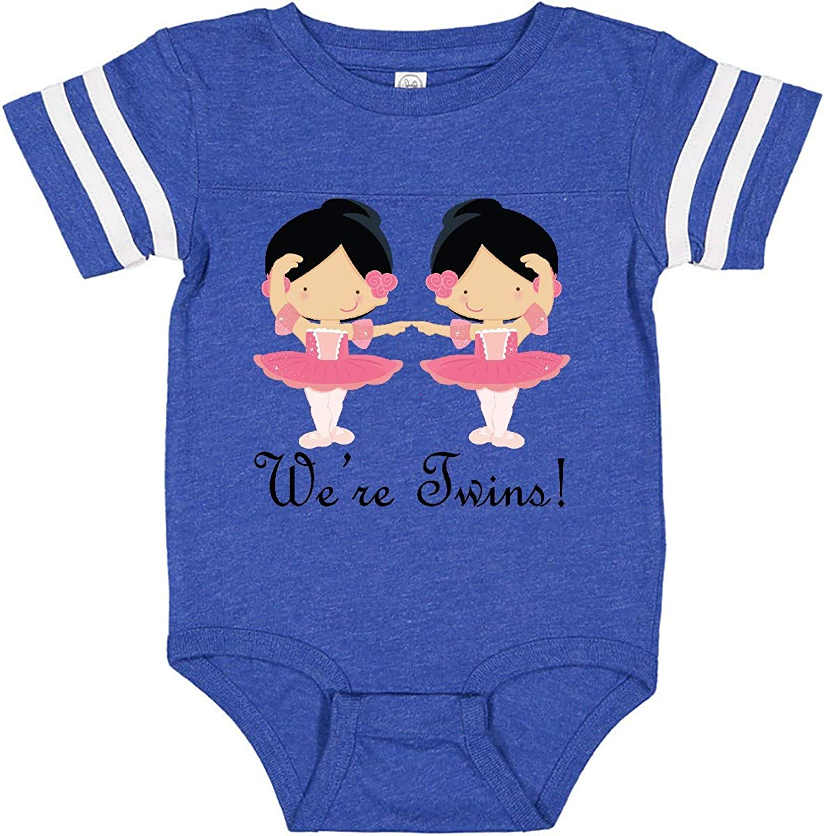 inktastic Ballerina Twins Infant Creeper