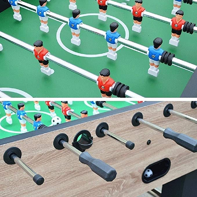 BEANFAN 6 Polo Futbolín Tabla Juguete Batalla máquina de Juego de ...