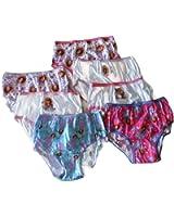 Disney Little Girls'  Seven-Pack Princess Sofia Panties
