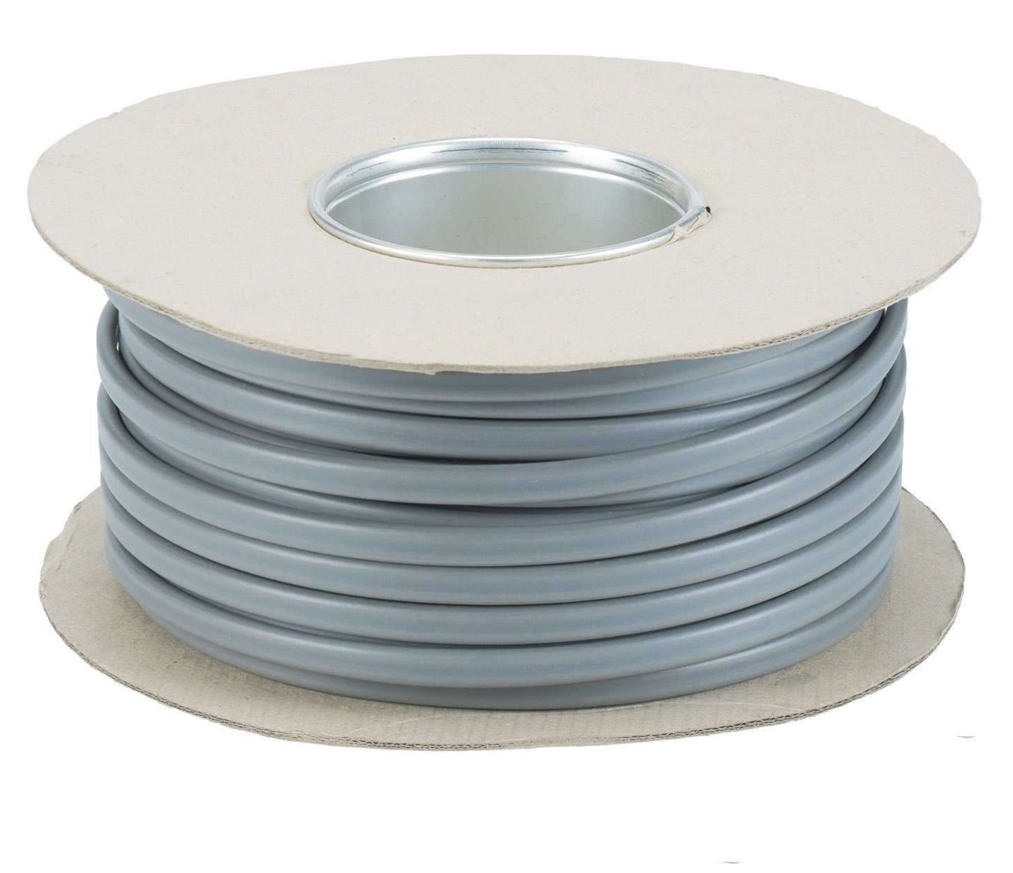 1 mm 3 Core And Earth 6243Y Flat Grey Electric Cable - 3 metre Cut Length Ali' s DIY