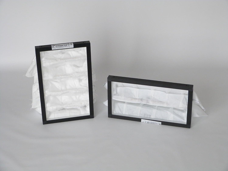 Ricambio Filtro Set in plastica cornice G4/F7per hoval homevent RS 250(zafs 250) (4Filtri) Sparhai24