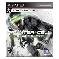 Nc Games 01121447808 Tom Clancy's - Splinter Sell - Blacklist - Ubisoft - Sam Fisher - Playstation 3