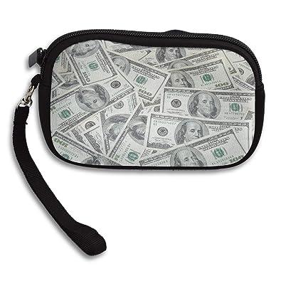 Amazon.com: Bolso de mano ligero para monedas con cremallera ...