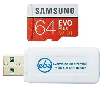 Samsung 64GB EVO Plus Micro SDXC Tarjeta de Memoria Funciona con ...