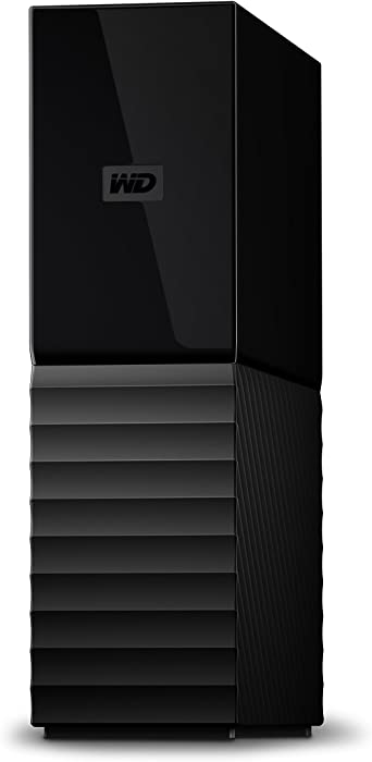 WD 10TB My Book Desktop External Hard Drive, USB 3.0 - WDBBGB0100HBK-NESN