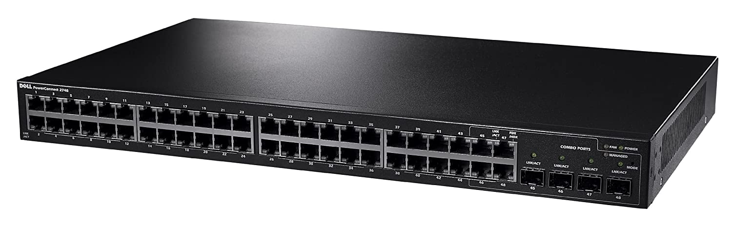Anatel Dell Power Connect 3448 48-port Network Switch OUF089 | eBay