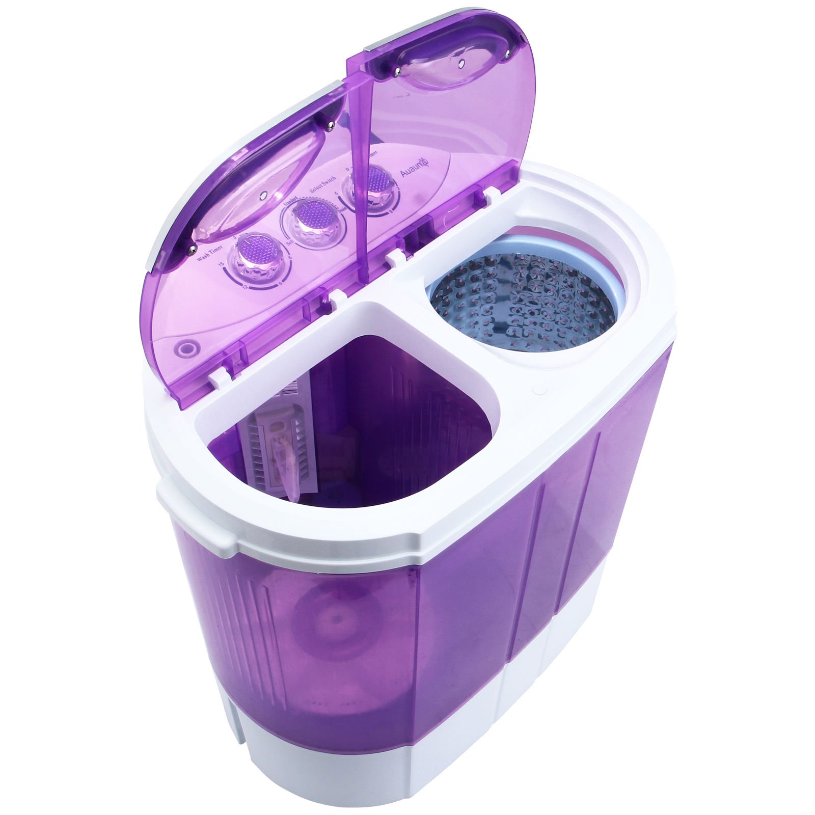 9LB Top Load Portable Mini Electric Washing Machine w/ Spin Dryer |Can Wash Laundry RV Mobile Home College Dorm Student Washer