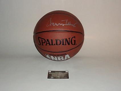 7157feb5e4e Jerry West Autographed Basketball La Lakers COA Memorabilia Lane &  Promotions