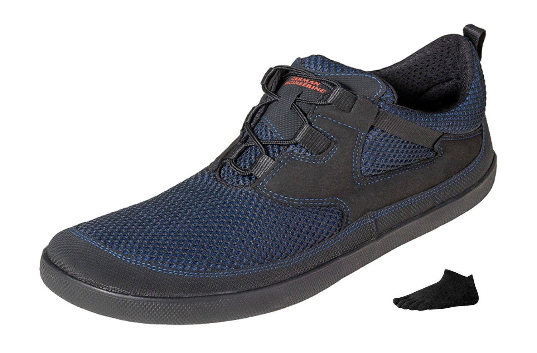 Sole Runner Pure 3 - SET - Unisex Barfußschuh im SET mit einem Paar Zehensocken und Winter-Einlegesohlen Sole Runner Barefoot Shoes