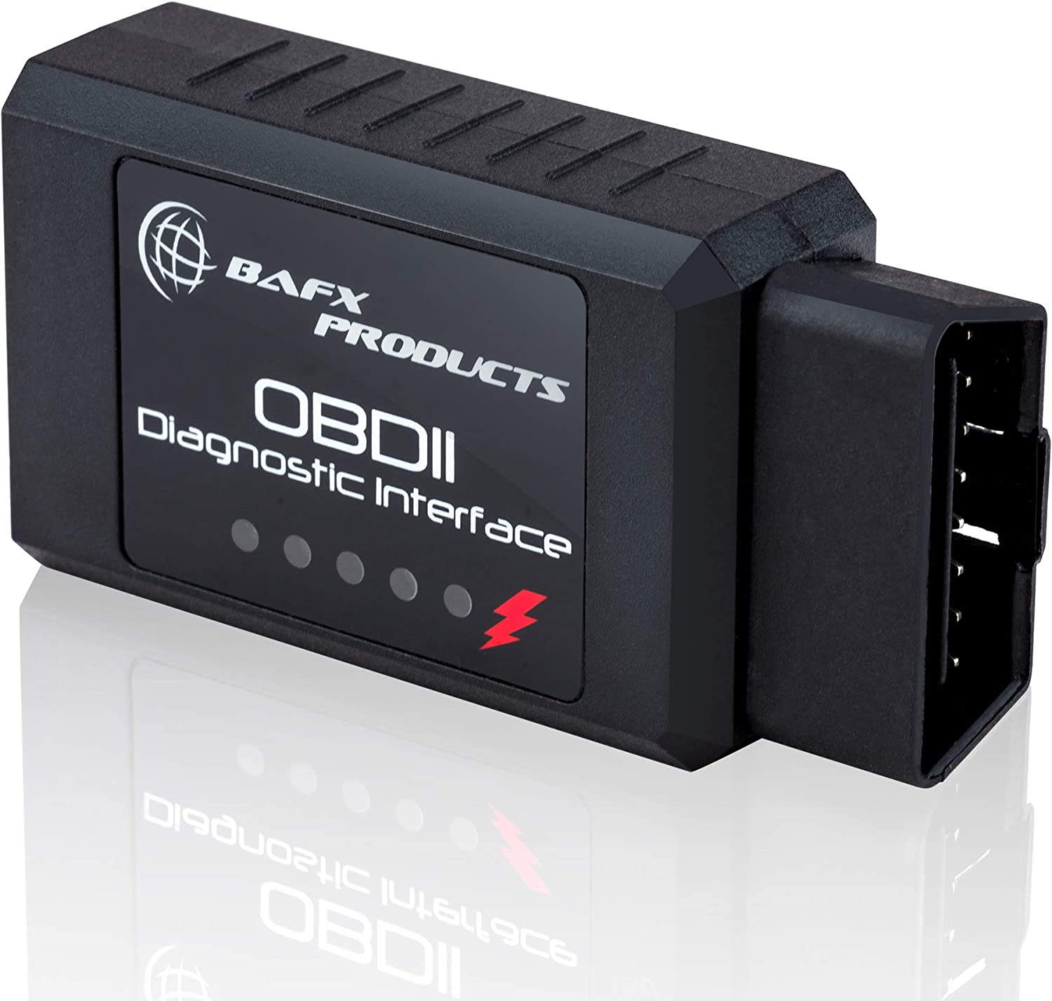 Bafx Products Wireless Bluetooth OBD2 Diagnostic Car Scanner