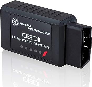 <br /></noscript> Bafx Products - Wireless Bluetooth OBD2 / OBDII Diagnostic Car Scanner