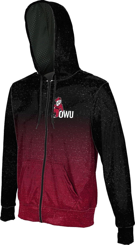 ProSphere Ohio Wesleyan University College Boys Full Zip Hoodie Ombre