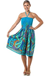 24993f667c Alki i One-size-fits-all Tube Dress Coverup - Black Floral Print at ...