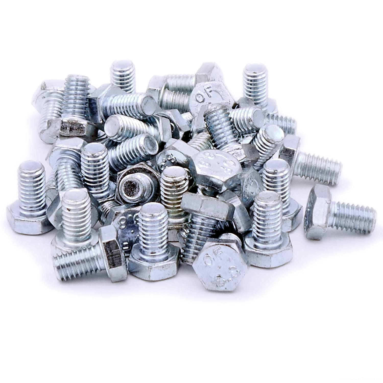M6 (6mm x 30mm) Hex Bolts (Fully Threaded Setscrew) - Stainless Steel (A2) (Pack of 20) Singularity Supplies Ltd