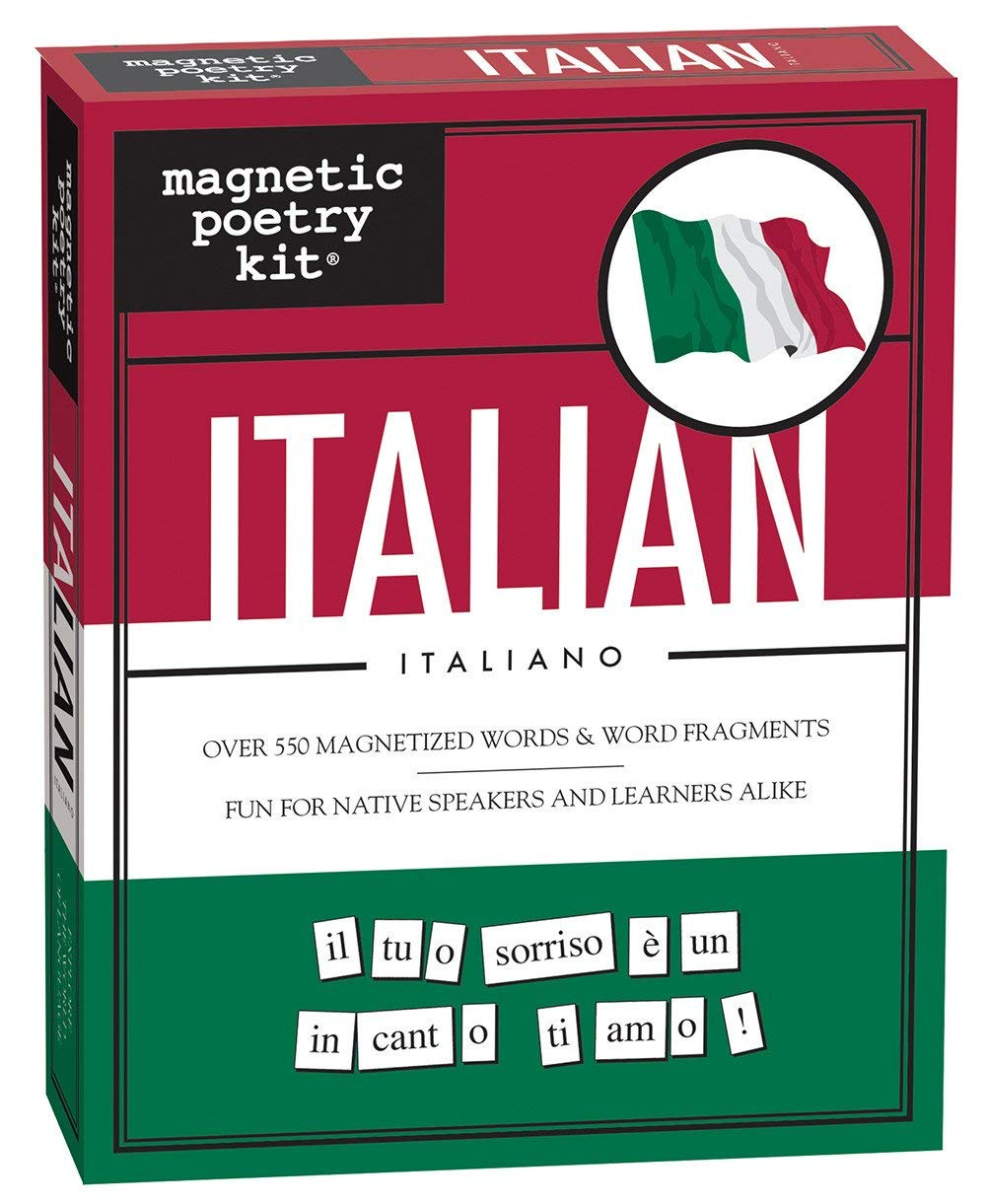 Amazon.com: Magnetic Poetry - Italian Kit - Words for Refrigerator - Write  Poems and Letters on the Fridge - Made in the USA: Books: Kitchen & Dining