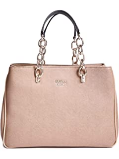 GUESS Factory Womens Scenic Logo Satchel