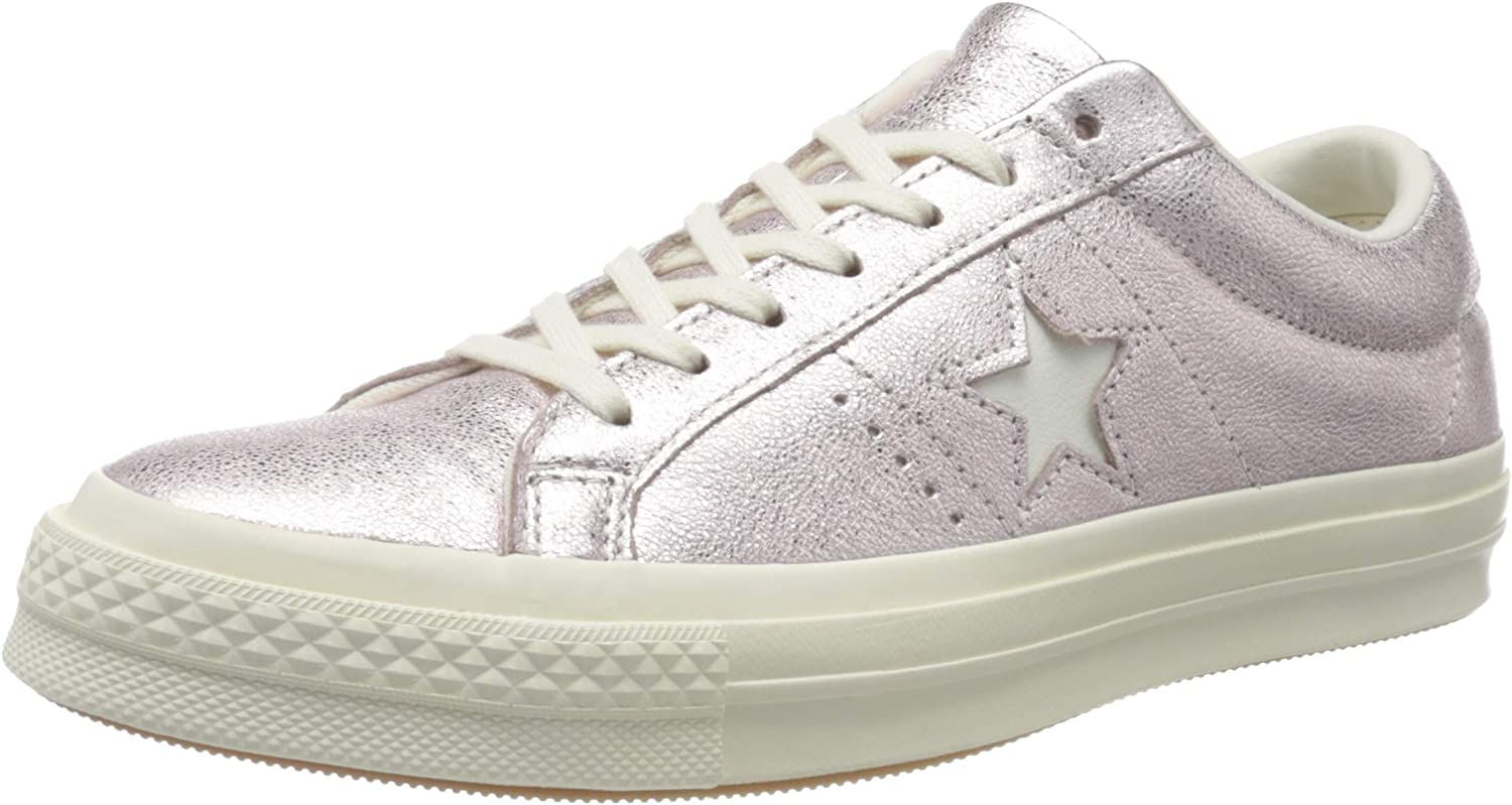 Converse Cons One Star Metallic Leather