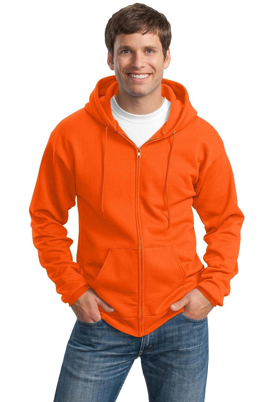 Port & Company  Herren Tall Ultimate Full-Zip Hooded Sweatshirt (PC90ZHT)