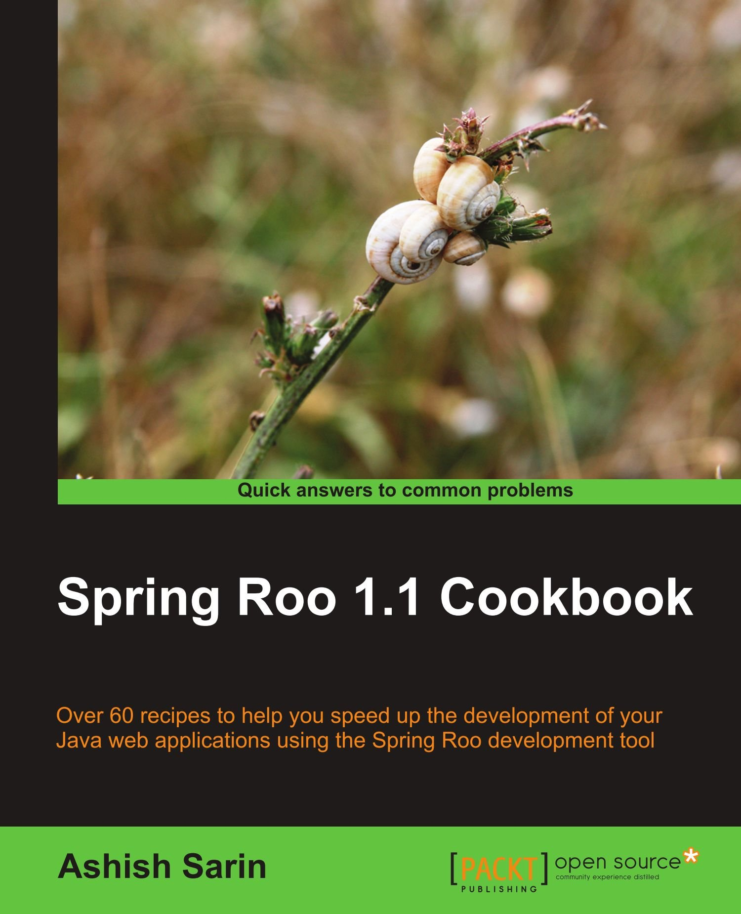 Download Spring Roo 1.1 Cookbook pdf epub