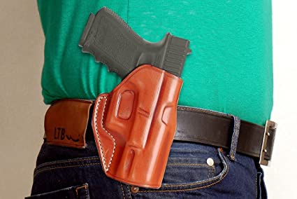 Buy LEATHER PADDLE HOLSTER (OWB) FOR WALTHER P99, P99 QA