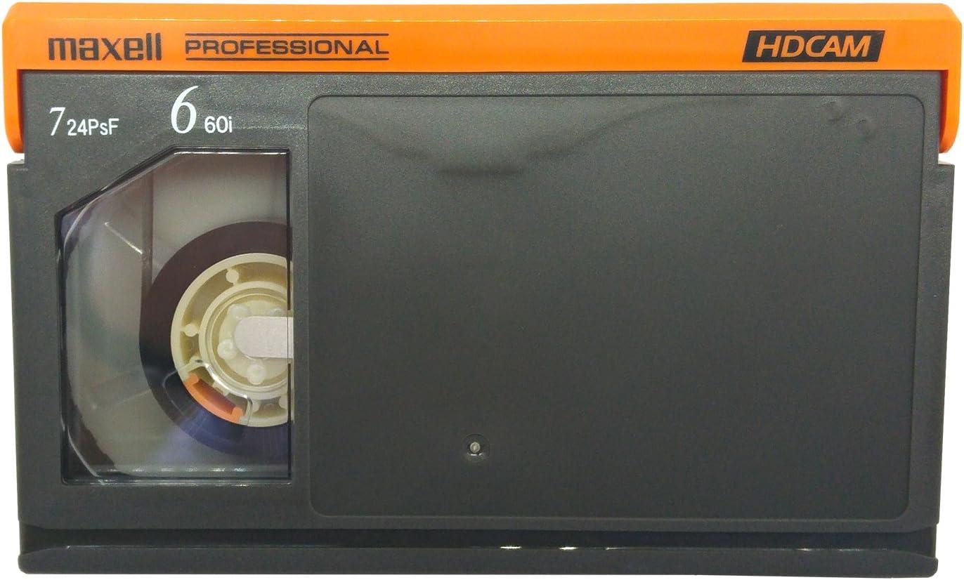 Box of 10 Maxell B-40HD HDCAM Video Tape Small 40 Minute