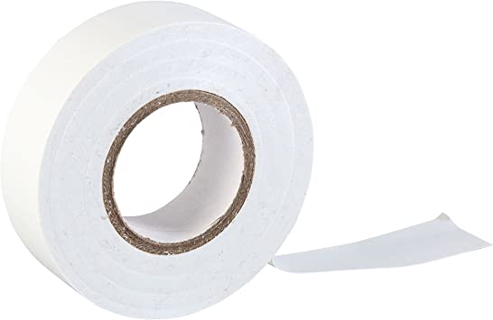 White Roll Duct Tape 19x25 mm MTL Sticker Durable For Electrician