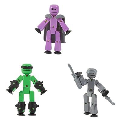 StikBot Off The Grid - Raptus, Shift, Regalius: Toys & Games
