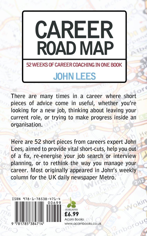 career road map amazon co uk john lees 9781785384714 books