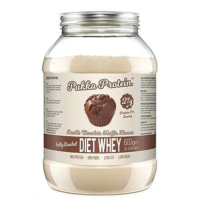 PUKKA PROTEIN – Proteína de Suero de Leche en Polvo Para Dieta Deliciosa – Sabor a