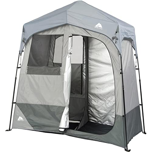 Outdoor Solar Shower (Changing 2-Room Shelter Tent) detail review