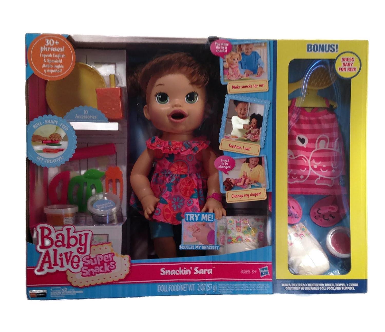 Baby Alive Snackin Sara Www Topsimages Com