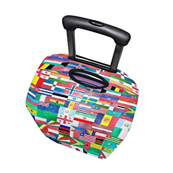 LEISISI Starting Aircraft Plane Luggage Cover Elastic Protector Fits XL 29-32 in Suitcase