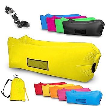 Tumbona Hinchable impermeable Sofá inflable cama de aire para ...