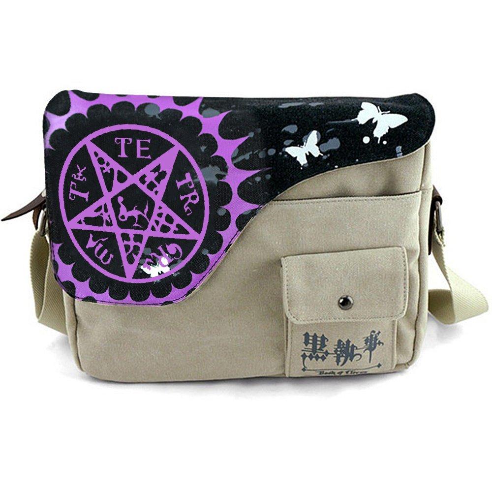KINOMOTO Anime Messenger Bag School Shoulder Bag Crossbody Bag Cosplay Satchel Handbag (Book of Circus)