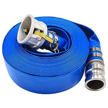 Eastrans Blue PVC Pool Backwash Hose