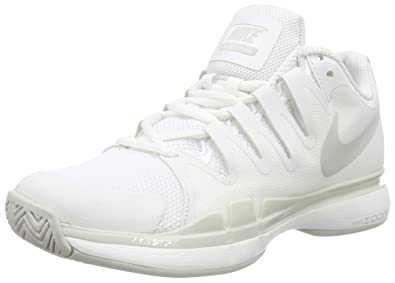 on sale f903e 640d9 Nike Court Zoom Vapor 9.5 Tour, Chaussures de Tennis Femme, Blanc-Weiß (