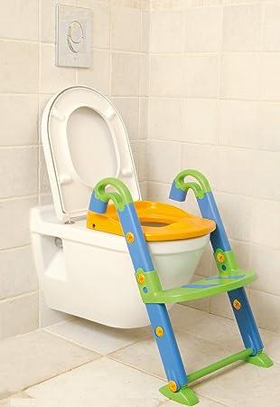 Orinal, Asiento para WC con o sin escalera, Apto para una altura de 38-42 cm y abertura a partir de