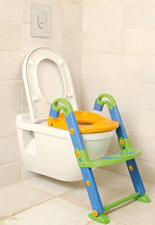 3In1 Kid Baby Toilet Training Children Safety Toddler Potty Trainer Seat Chair S